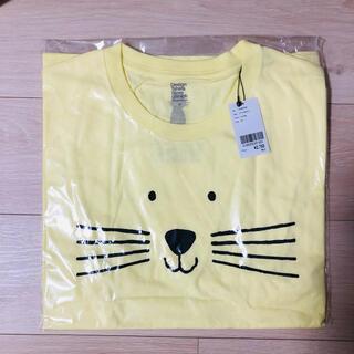 Design Tshirts Store graniph - 新品未開封◆グラニフ 猫Tシャツ ユニセックスMサイズ 半袖 イエロー黄色