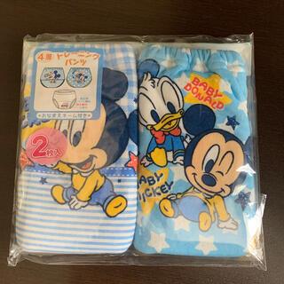 ディズニー(Disney)の◆新品◆トレーニングパンツ 2枚 ミッキー ディズニー 80センチ(トレーニングパンツ)