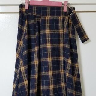 ダブルクローゼット(w closet)のw closet ロングスカート チェック(ロングスカート)