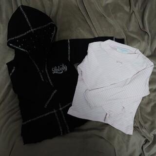 ポンポネット(pom ponette)の子供服2点セット90〜100サイズ(その他)
