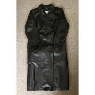 ジョンローレンスサリバン(JOHN LAWRENCE SULLIVAN)のsullen購入 Leather long trench coat(トレンチコート)