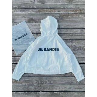 ジルサンダー(Jil Sander)のJILSANDER ホワイト マウンテンパーカー M(マウンテンパーカー)