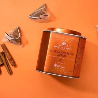 ディーンアンドデルーカ(DEAN & DELUCA)のHARNEY&SONS ホット シナモン スパイス 紅茶(茶)