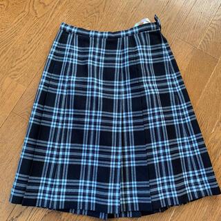 ザスコッチハウス(THE SCOTCH HOUSE)の女子学生用 プリーツスカート(ひざ丈スカート)