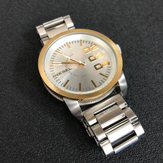 ディーゼル(DIESEL)のディーゼル DIESEL 腕時計 ゴールド(腕時計(アナログ))