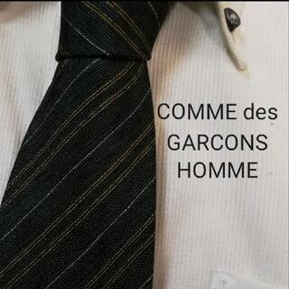 コムデギャルソン(COMME des GARCONS)のほぼ新品★COMME des GARCONSHOMME★ストライプ高級ネクタイ★(ネクタイ)