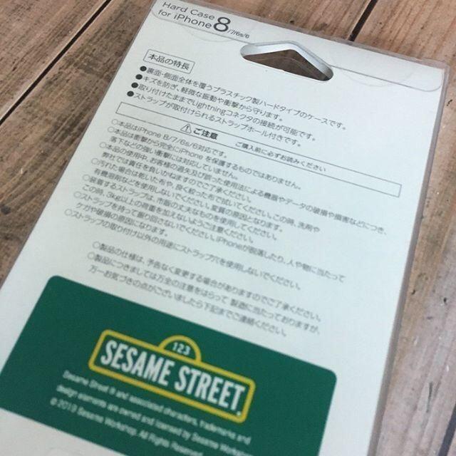 SESAME STREET(セサミストリート)のセサミ iPhoneSE2/8/7/6s/6 スマホケース スマホ/家電/カメラのスマホアクセサリー(iPhoneケース)の商品写真