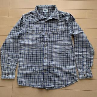 オールドネイビー(Old Navy)のチェックシャツ 10/12才(Tシャツ/カットソー)