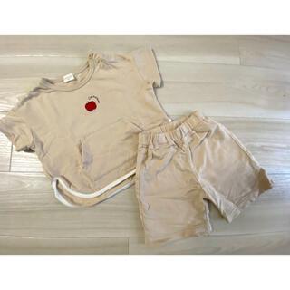 アカチャンホンポ(アカチャンホンポ)のアカチャンホンポ 半袖 短パン セットアップ 90(Tシャツ/カットソー)