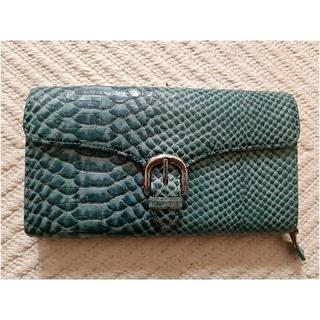 ラルフローレン(Ralph Lauren)のUSED ☆ RALPH LAURENラルフローレン 蛇がら財布(財布)
