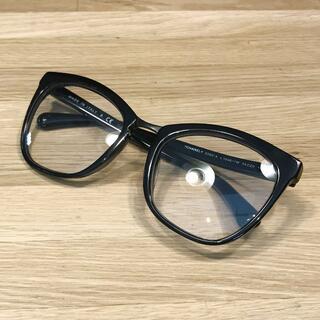 CHANEL - 超美品 シャネル 2019 サングラス 3WAY メガネ ブラック 5393