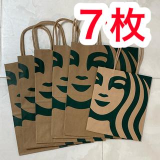 スターバックスコーヒー(Starbucks Coffee)のスターバックス 紙袋 6枚(ショップ袋)