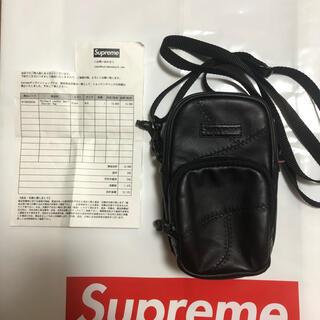 Supreme - Supreme 19FW Patchwork Leather Shoulder