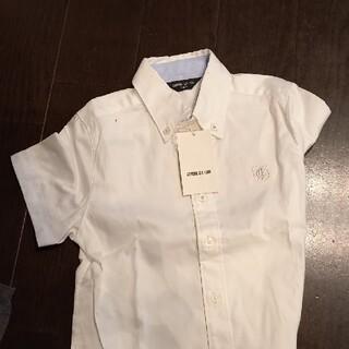コムサイズム(COMME CA ISM)のカッターシャツ 110cm 白 半袖 コムサ(Tシャツ/カットソー)