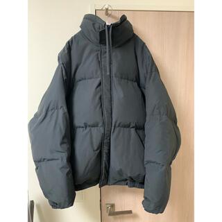 フィアオブゴッド(FEAR OF GOD)のfear of god essentials puffer jacket 黒 L(ダウンジャケット)