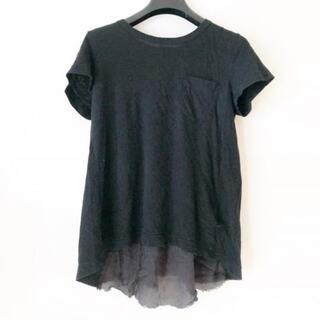 sacai - サカイ 半袖カットソー サイズ3 L - 黒