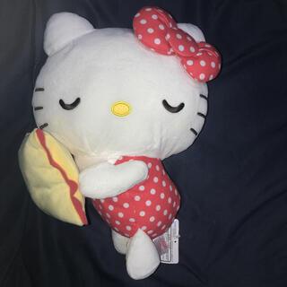 ハローキティ(ハローキティ)のサンリオキャラクターズ おやすみベビードールBIGタイプ(ぬいぐるみ)