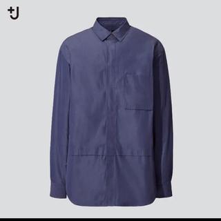 ジルサンダー(Jil Sander)のユニクロ&プラスJスーピマコットンオーバーサイズシャツ(長袖)(シャツ)