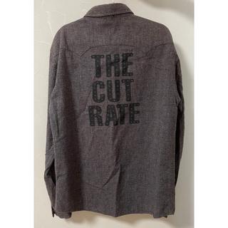 キャリー(CALEE)のcutrate 長袖シャツ デニムシャツ Mサイズ calee radiall(シャツ)