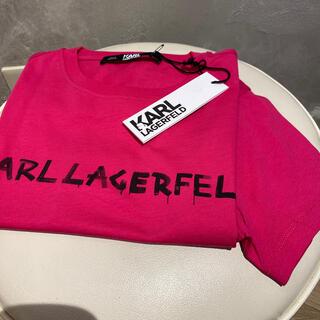 カールラガーフェルド(Karl Lagerfeld)の新品✨カールラガーフェルド  Tシャツ(Tシャツ(半袖/袖なし))