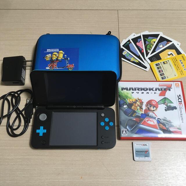 ニンテンドー2DS(ニンテンドー2DS)のニンテンドー 2DSLL & マリオカート エンタメ/ホビーのゲームソフト/ゲーム機本体(携帯用ゲーム機本体)の商品写真