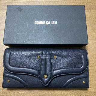 コムサイズム(COMME CA ISM)のCOMME CA ISM 黒の長財布(財布)