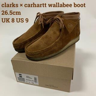 Clarks - クラークス x カーハート WIP ワラビー Brown Suede 26.5