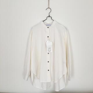 しまむら - 新品タグ付き 未使用 バンドカラーシャツ シーズンリーズン