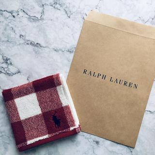ラルフローレン(Ralph Lauren)の【新品】ラルフローレン  ミニタオル タオルハンカチ(ハンカチ)
