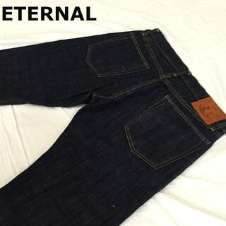 エターナルジーンズ(ETERNAL)の濃紺ETERNALエターナル  ローライズストレートW32約87cm(デニム/ジーンズ)