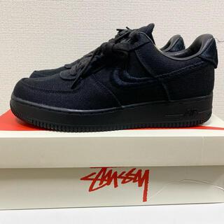 ステューシー(STUSSY)の【26.5】Stussy × Nike Air Force 1 Black(スニーカー)