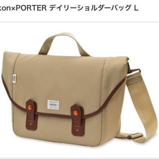 ポーター(PORTER)の ニコン×ポーター デイリーショルダーバッグ L(ケース/バッグ)