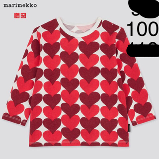 marimekko - marimekko uniqlo 2020aw ベビー長袖Tシャツ