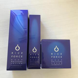 ライスフォース - ライスフォース 60日分 化粧水 美容液 クリーム 3点セット