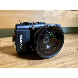 OLYMPUS - OLYMPUS TG4  LEDライト フィッシュアイセット 防水カメラ