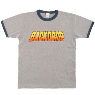 バックドロップ(THE BACKDROP)の【美品】BACKDROP S.LOGO RINGER TEE XL(Tシャツ/カットソー(半袖/袖なし))