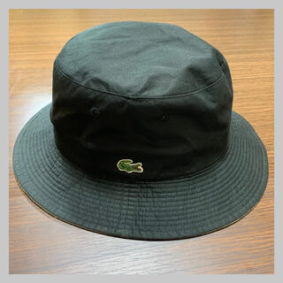 ラコステ(LACOSTE)のLACOSTE 帽子 リバーシブル バケットハット(ハット)