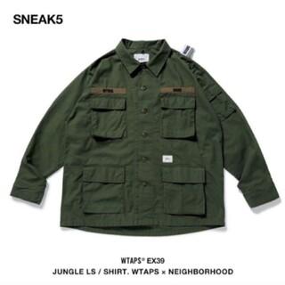 W)taps - JUNGLE LS / SHIRT. WTAPS×NEIGHBORHOOD
