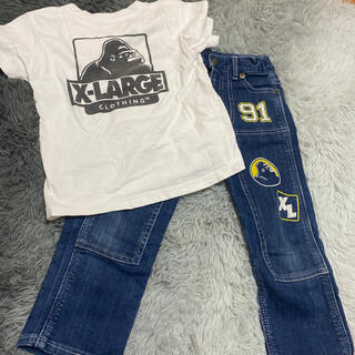 XLARGE - XLARGE KIDS Tシャツ パンツ