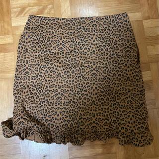 heather - epine レオパードスカート
