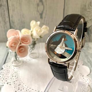 ピエールラニエ(Pierre Lannier)の【希少】Pierre Lannier ピエールラニエ 腕時計 ペンギン シルバー(腕時計)