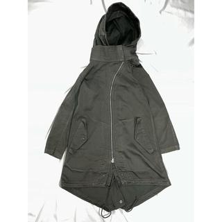 リックオウエンス(Rick Owens)のZUCCA zip mods-coat(モッズコート)