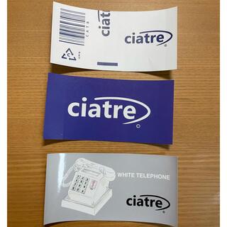 ciatre ステッカー(ステッカー)