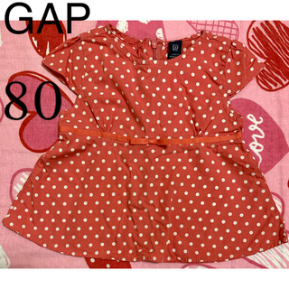 ギャップ(GAP)のGAP トップス 80(シャツ/カットソー)
