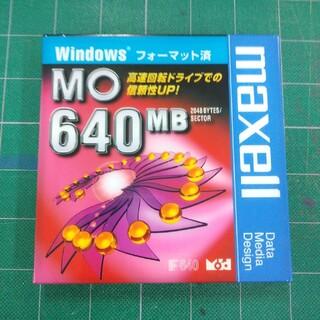 MO 640MB windowsフォーマット