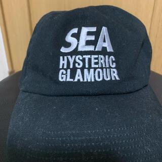 ヒステリックグラマー(HYSTERIC GLAMOUR)の☆希少☆ウィンダンシー ヒステリックグラマー  キャップ 帽子(キャップ)