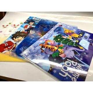 アニメクリアファイル 5枚セット ディズニー イナズマイレブン ダンボール戦記(クリアファイル)