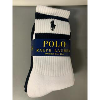 POLO RALPH LAUREN - ポロ ラルフローレン 靴下 2足セット