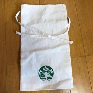 スターバックスコーヒー(Starbucks Coffee)の新品 Starbucks coffee ギフトラッピング コットンバッグ(ノベルティグッズ)