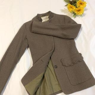 フェンディ(FENDI)のVETEMENTS CLASSIQUES イタリア製 ウールジャケット 美品(テーラードジャケット)